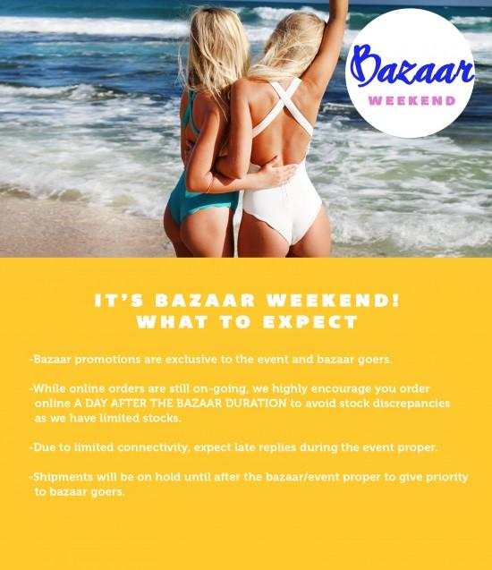 Bazaar weekend