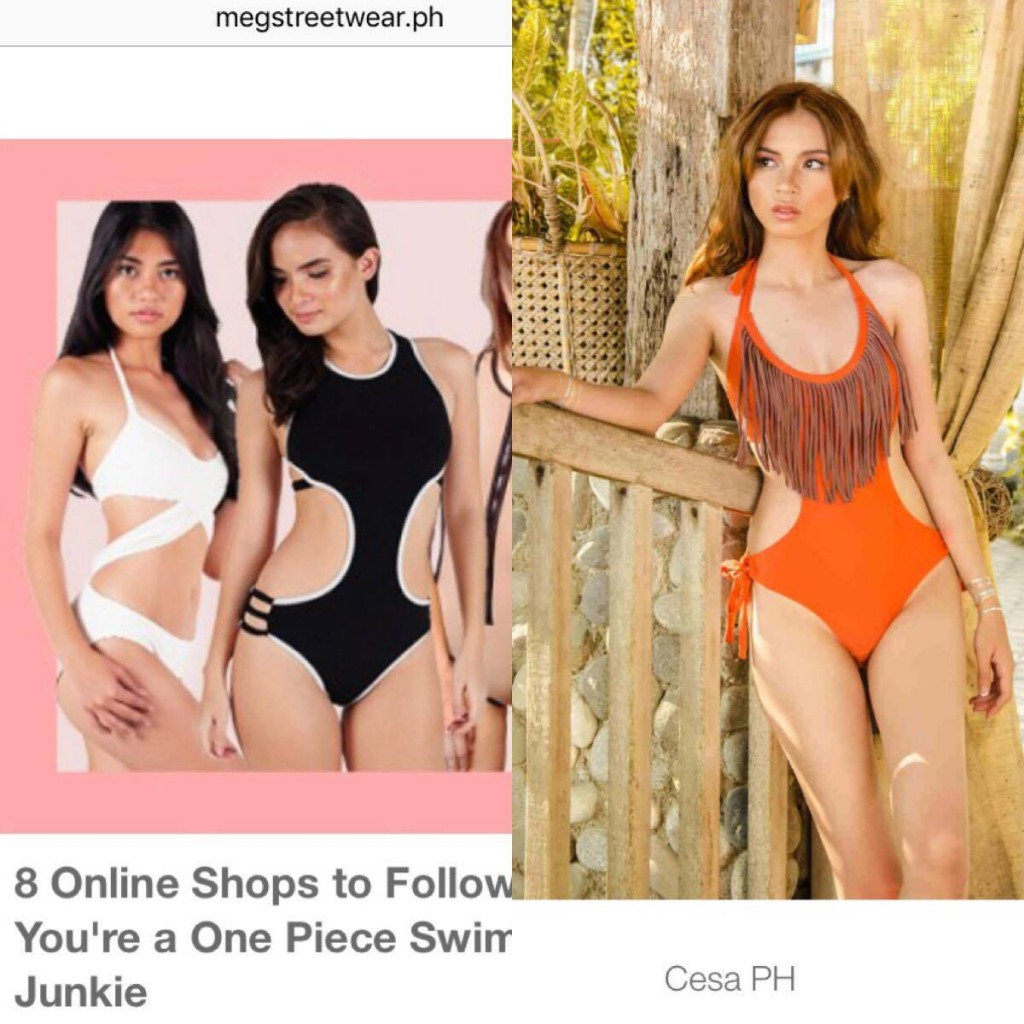 (left) Belize Reverse X Maillot, (middle) Pitch-Out maillot, (right) Mona Fringe Monokini