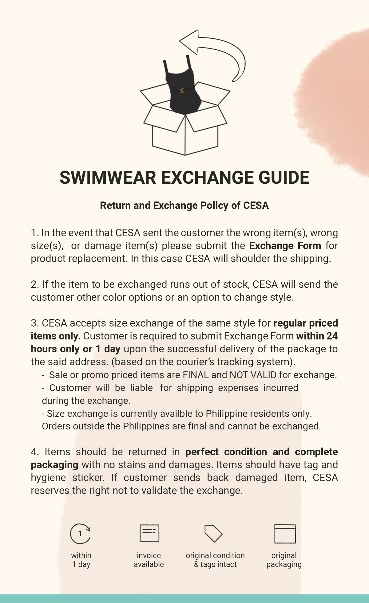 SIZE EXCHANGE GUIDE v3